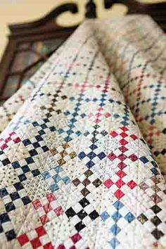 Patchwork+Patterns+Inspired+by+Antique+Quilts+-+Part+One+on+Sewing+With+Nancy+Zieman