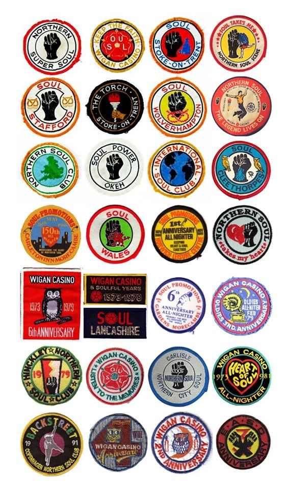 Vintage Northern Soul Patches