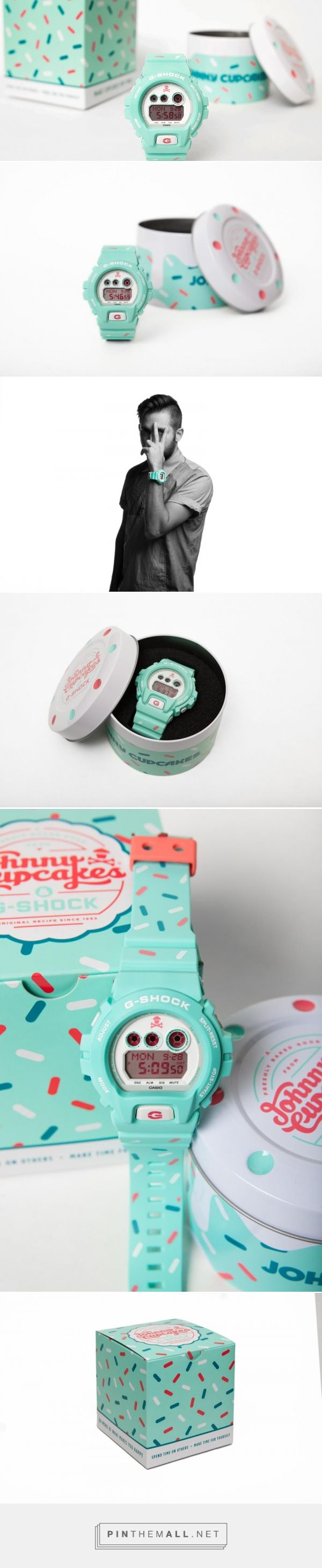 Casio G-Shock X Johnny Cupcakes — The Dieline - Branding & Packaging - created via http://pinthemall.net