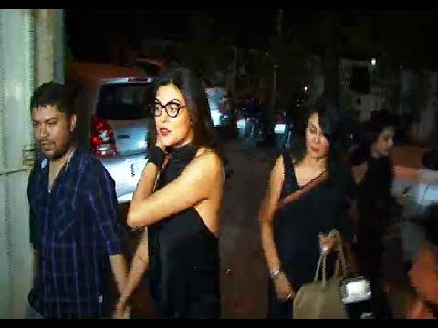 Sushmita Sen at the special screening of the movie CHOTUSHKONE.
