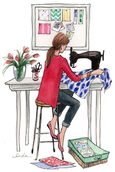 DEAR STELLA. Sketch, illustration, fashion.: