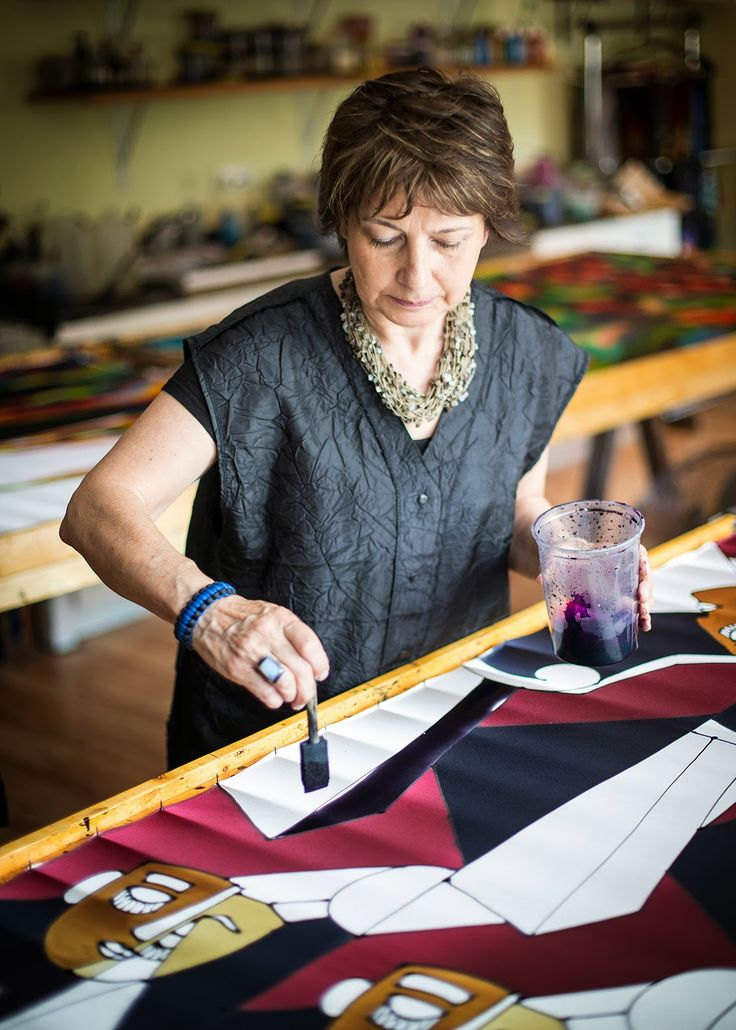 Joanna Alot is an artist of hand painted silk - creating beautiful clothing, paintings, and accessories.  Whether it is a classical, flora...