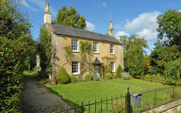 In the picturesque hamlet of Fossebridge, near Cheltenham, Gloucestershire, is Elm Villa, an elegant Cotswold stone house. It has three bedrooms and 2.25 acres of land, with gardens, and an orchard and paddock. It is for sale at £895,000 with Knight Frank (01285 659 771; knightfrank.com).