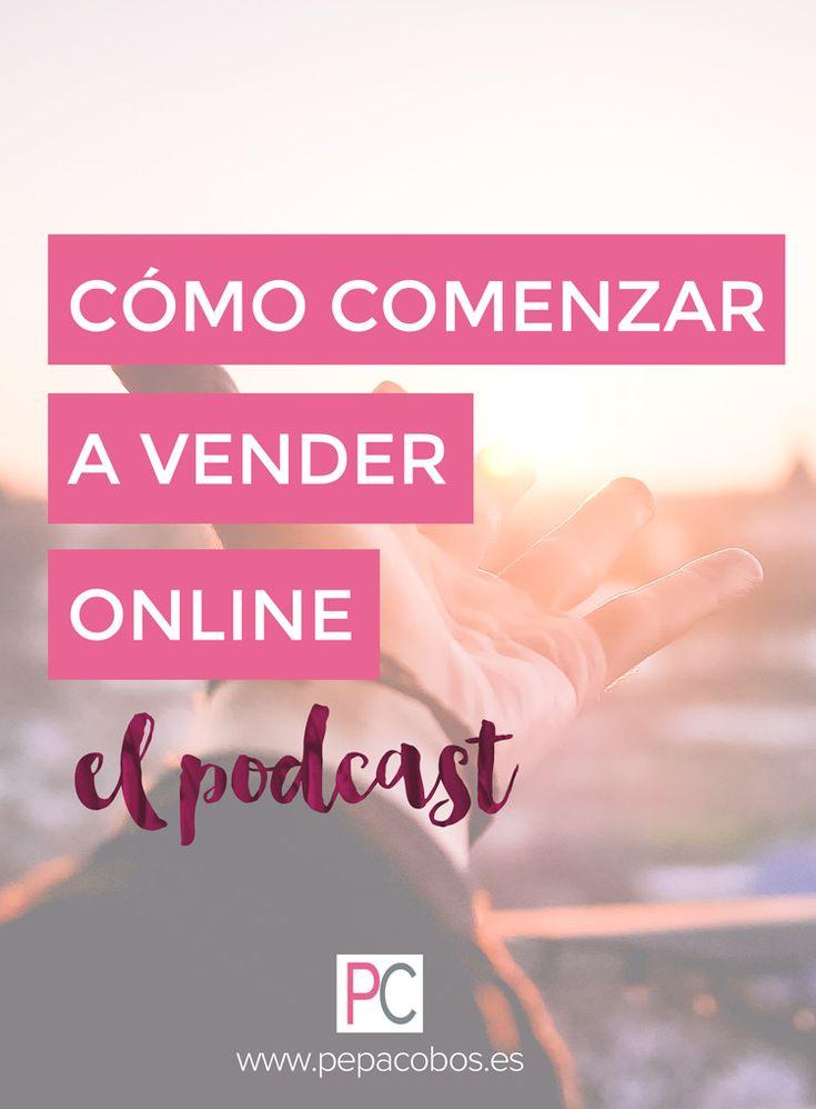 """Descubre el nuevo podcast """"Cómo comenzar a vender online"""" con las mejores estrategias cada semana en tan sólo 10 minutos. #marketingonline #podcast #estrategias"""
