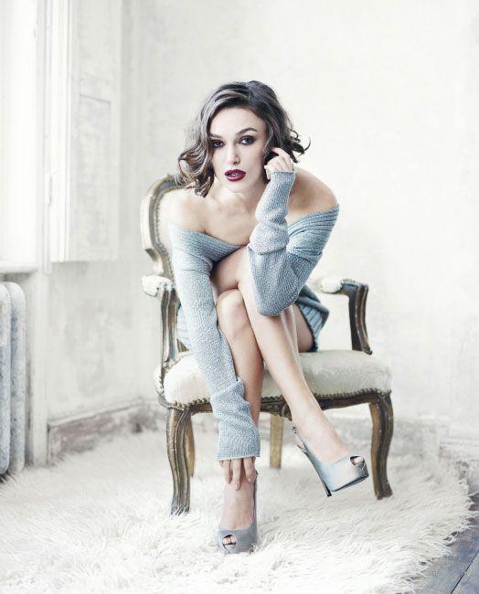 Kiera Knightly -- Boudoir - Glam - Editorial - Portrait - Lingerie - Photography - Pose