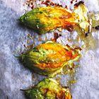Een heerlijk recept: Courgettebloemen uit de oven