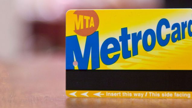We've all been there. The train is coming into the station, and you grab your MetroCard and quickly try and swipe it at a turnstile.