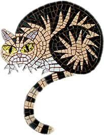 Mosaic cat by Kevin McMahon @Kevin McMahon