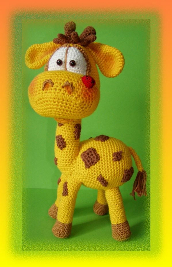 Amigurumitogo Giraffe : 25+ beste idee?n over Giraffe haken op Pinterest ...