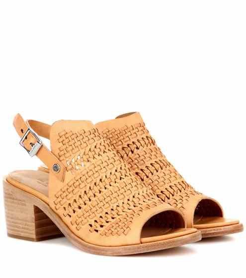 Wyatt mid-heel leather sandals | Rag & Bone