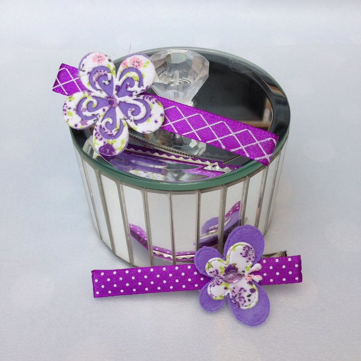 A personal favourite from my Etsy shop https://www.etsy.com/uk/listing/523528557/two-pretty-purple-clips-with-butterfly