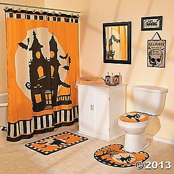 Halloween Silhouette Bathroom Collection