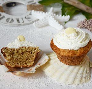 Kokos-Sahne Cupcakes Low Carb (1)