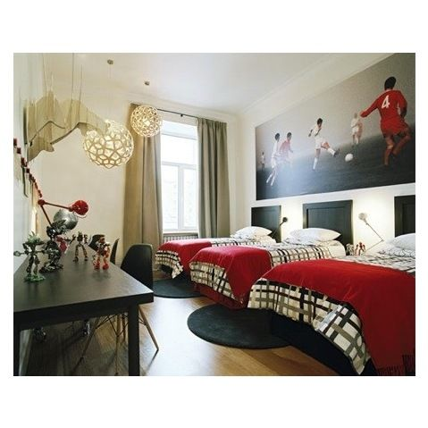 Soccer Themed Room Design Ideas