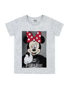 LITTLE ELEVEN Girls 'Minnie Selfie' T-Shirt. Shop here: http://www.tilltwelve.com/en/eur/product/1079228/LITTLE-ELEVEN-Girls-Minnie-Selfie-T-Shirt/