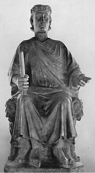 Arnolfo di Cambio, Statua di Carlo d'Angiò, Musei Capitolini di Roma