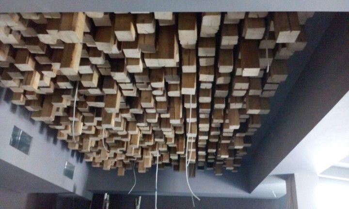 3D wooden light made by Handmade.