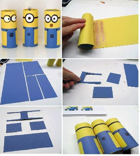 I want to do this for me! The minions are my favorite cartoon characters of all time!