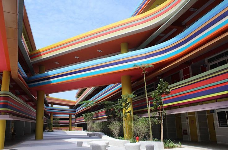 Joyful and Vibrant Primary School in Singapore – Fubiz Media