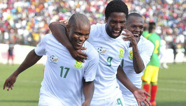 Bafana Bafana win 2 – 0 over Congo Brazzaville