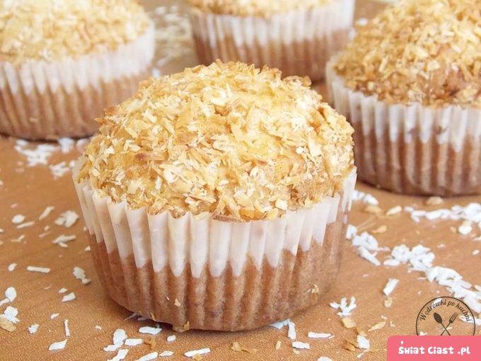 Muffiny kokosowe - Swiatciast.pl