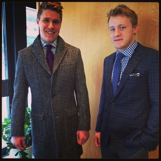 Morgan rielly and jake gardiner are so cute in tuxes :)