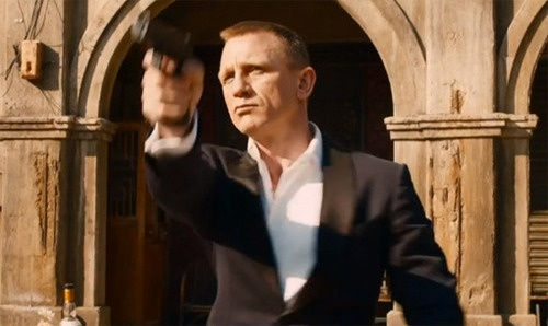 'Skyfall' teaser trailer: 'Murder?' asks a shrink. 'Employment,' responds James Bond | Internet Billboards