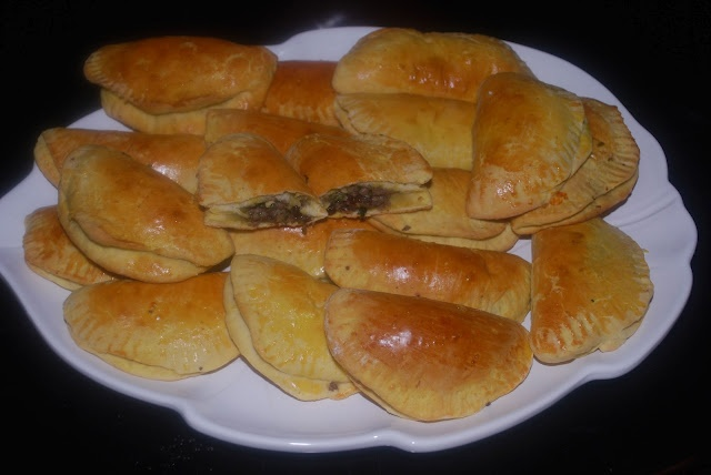 Fast and Easy Spicy Beef Empanadas - recipe at: http ...