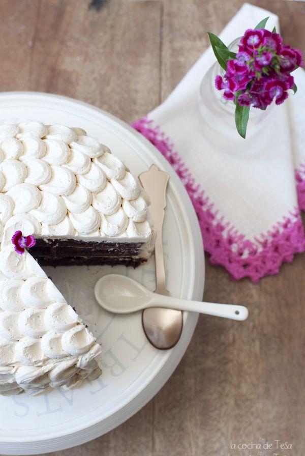 La cocina de Tesa  Tarta de chocolate y avellana