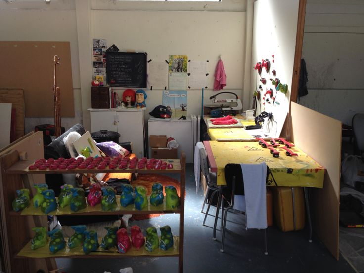 My studio in Eden Tce. It's my last weekend working here, I'm off to a new space at Method and Manners