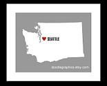 Yes, Yes I do.Favorite Places, Seattle Art, Home Seattle, Art Prints, Crafty Crafts