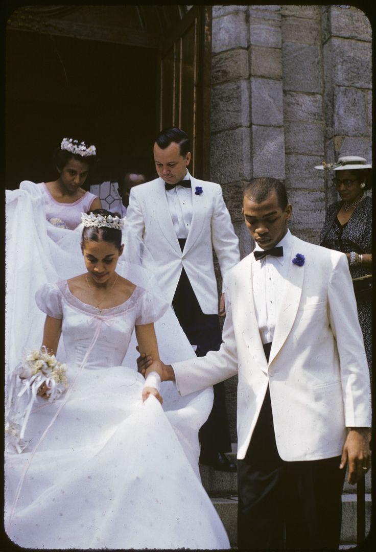 Carmen de Lavallade and Geoffrey Holder on their wedding day, June 26, 1955.