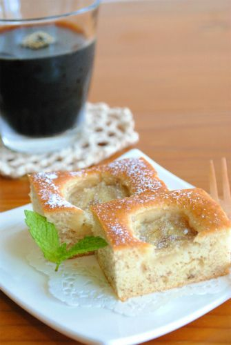 ホットケーキミックスで♪でこぼこ バナナケーキ ☆ by 四万十みや ...