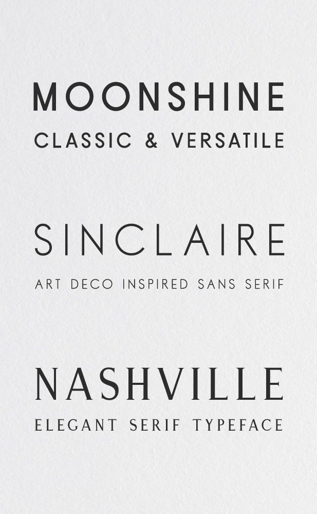 Modern Typefaces | April Releases @creativemarket Check out these contemporary typefaces that include serif and sans-serifs released this April on Creative Market.