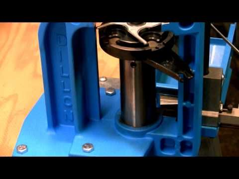 Reloading on a Dillon 550b: Caliber Conversion Installation - YouTube
