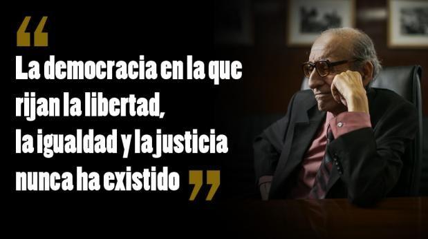 """""""La democracia es un futurible"""", por Marco Aurelio Denegri"""