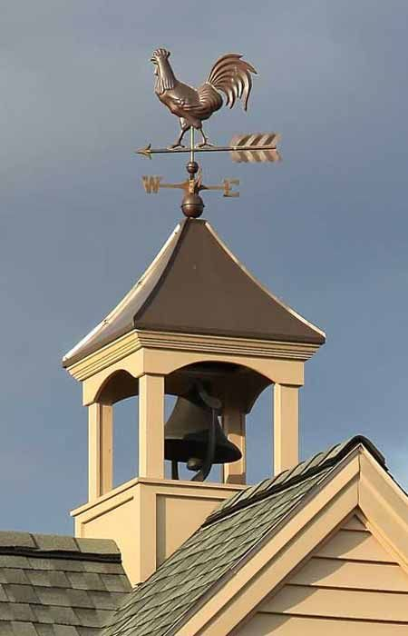 how to build a cupola for a barn