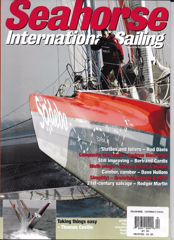 Seahorse International Sailing magazine Statues and toilers Composite fast track