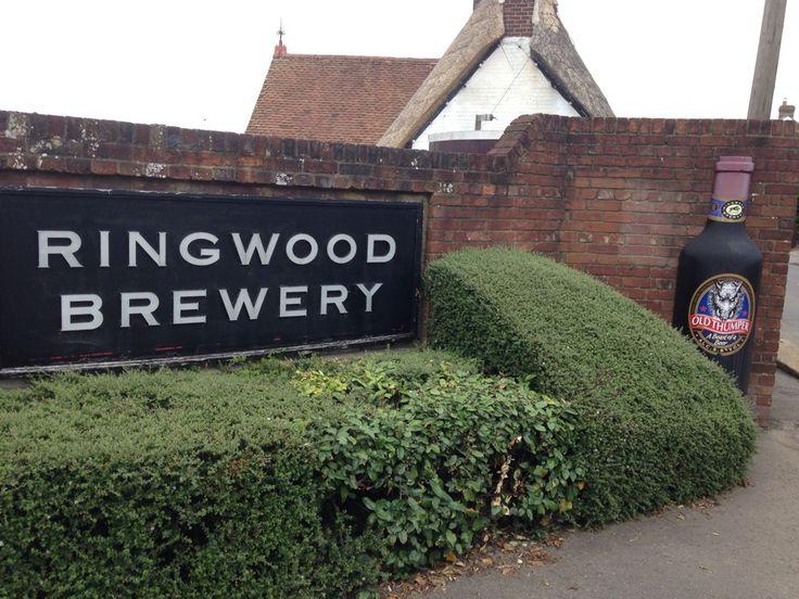 Ringwood Brewery in Ringwood, Hampshire 138 Christchurch Road, Ringwood, Hampshire BH24 3AP