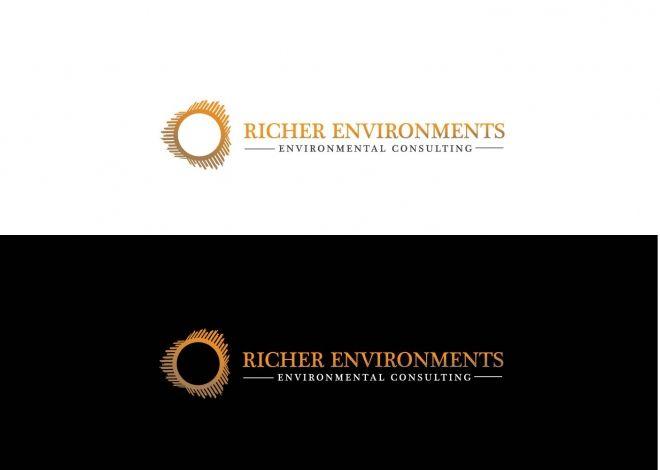 Richer Environments Environmental Consulting Richer Environments Environmental Consulting Client Winner Riche Logo Design Contest Logo Design Consulting Logo