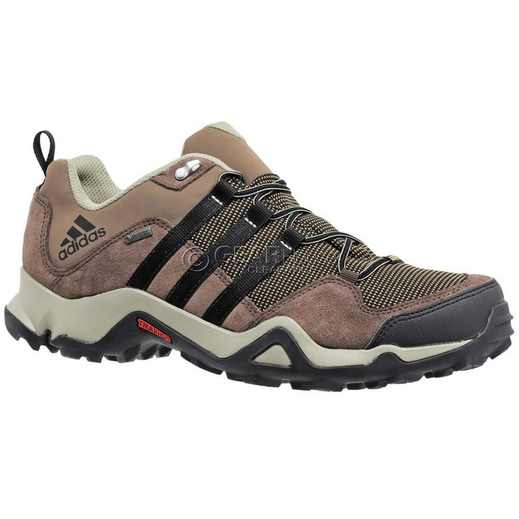 New Adidas Outdoor Brushwood Mesh GTX Mens Hiking Trail Shoes Gore-Tex :  Brown |