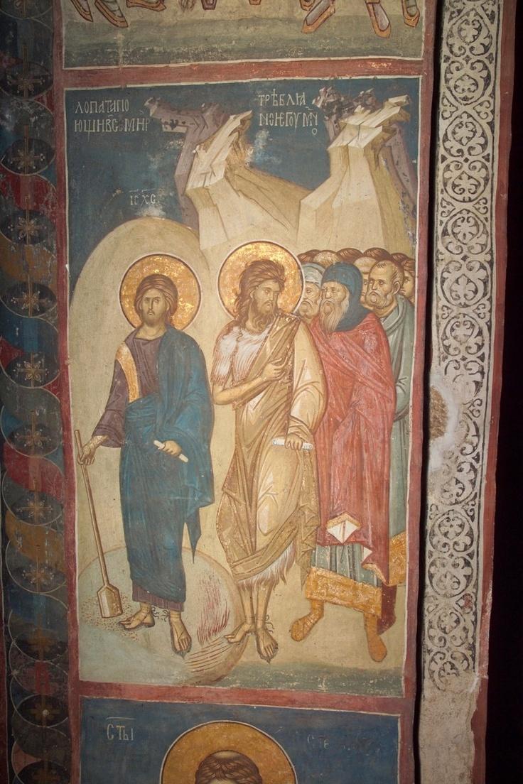 BLAGO | BLAGO : Decani : 242 St. John the Forerunner on the Shores of Jordan Preaching