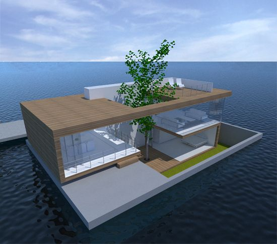 Waterwoning | floating home | architect