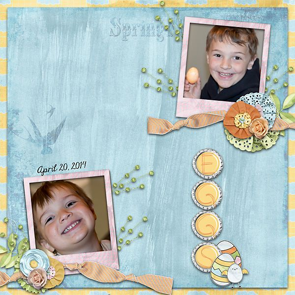 Springtime Bundle by #SusDesigns  http://scraptakeout.com/shoppe/Spring-time-bundle.html