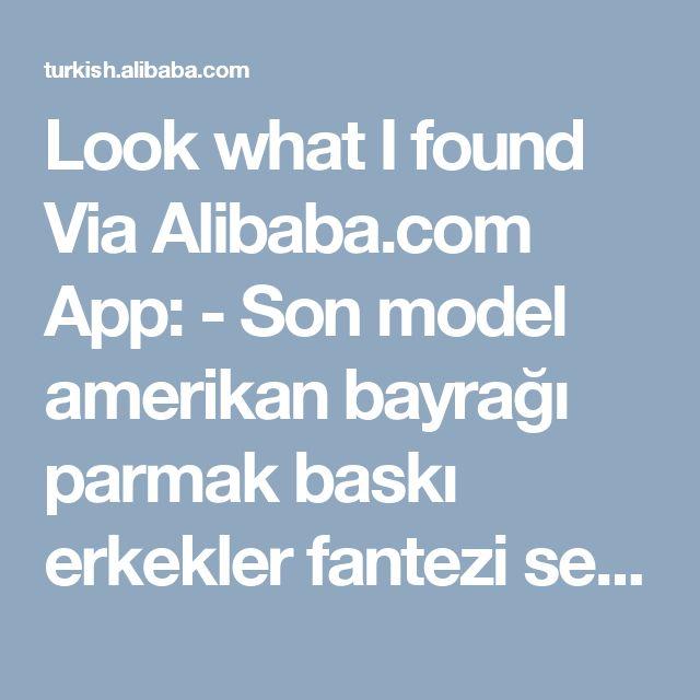 Look what I found Via Alibaba.com App: - Son model amerikan bayrağı parmak baskı erkekler fantezi serigrafi t-shirt