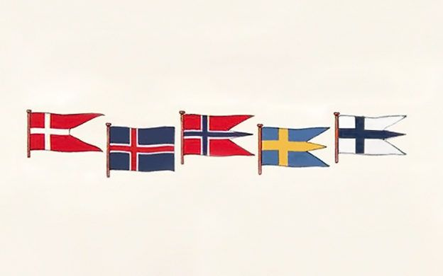 A Brief History Of The Scandinavian And Nordic Flags Scandinavian History Norwegian Flag Norway Flag
