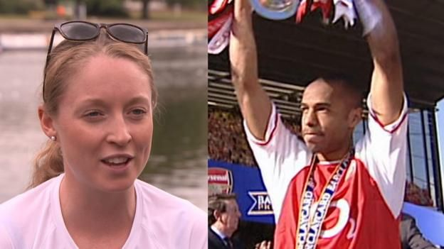 "Triathlete and Swansea City fan Non Stanford predicts a big away win for the Swans against Tottenham on Saturday, and says she would one day ""like to marry Thierry Henry"". Watch Football Focus on Saturday, 16 September from 12:00 BST on BBC One and the BBC Sport website. Available..."