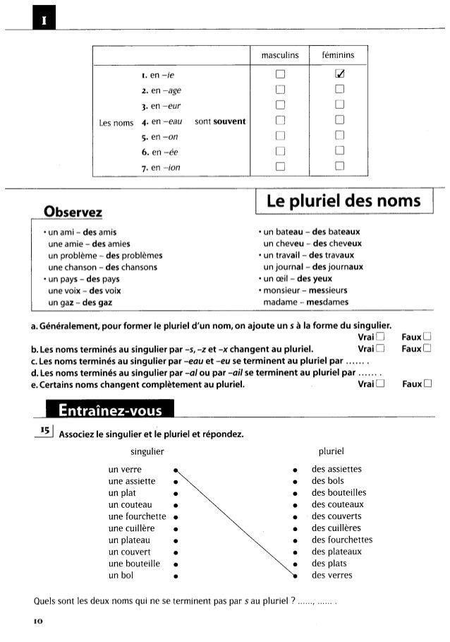 Hachette 500 exercices de grammaire a1 | delf b2 | French grammar