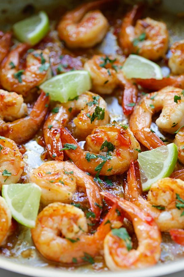 Image Credits: Themediterraneandish Shrimps are among my favorite foods and they won't miss from my
