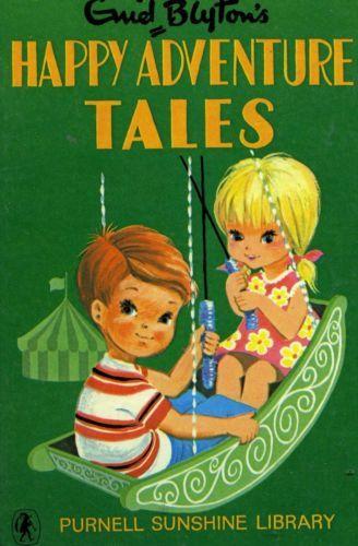 Happy-Adventure-Tales-Enid-Blyton-Sunshine-Library-FREE-AUS-POST-Used-Hardcover  www.sleepybearbooks.com